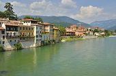 The River Brenta In Italy