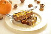 Walnut fruitcake