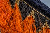 Colored fishing net