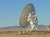 VLA field of satellite dishes