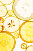 citrus fruits background