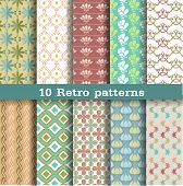 10 retro patterns.