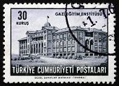 Postage Stamp Turkey 1963 Gazi Institute Of Education