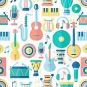 Seamless musical pattern