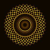 pic of cosmic  - The Abstract cosmic circle of fire star - JPG