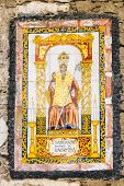 stock photo of patron  - icon of Saint Pancras or Pancratius  - JPG