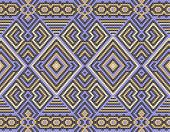 image of interlocking  - geometric pattern of interlocking rhombs on a grey background - JPG