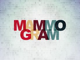 foto of mammogram  - Health concept - JPG