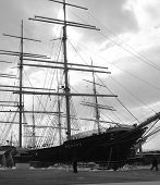 The Clipper Ship Peking at South Street Seaport, NYC