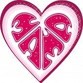 postal: tu corazón
