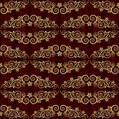 Seamless background. The classic elegant design. Bordo. Two layer. VECTOR (See Jpeg Also In My Portf