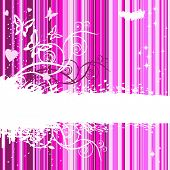 Design of Banner Background Glamorous Emo.