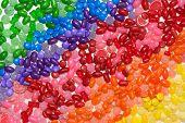 arco iris de caramelo