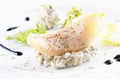 picture of faber  - Fish fillet with avocado tatar - JPG