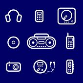icons Audio devices