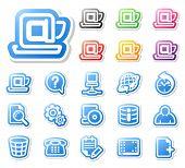 Set of desktop icons