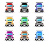 An illustrasion truck icon for your design, website, application, presentation, or ...  Good looking