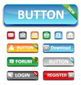 Set glossy buttons (register, download, forume, login and more ...)