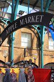 The Apple Market in Covent Garden. London, UK