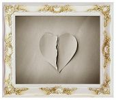 White Frame And Heartbroken