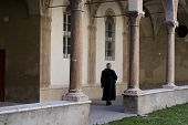 Priest In Italian Convent