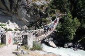 Phunki Tenga Bridge - Nepal