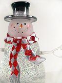 Glass Snowman 2