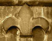 Fleur-de-lis Of Stone