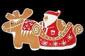 Santa Claus gingerbread