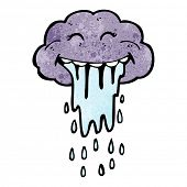 cartoon funny raincloud