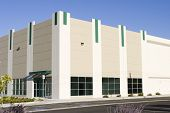 picture of business-office  - Brand new office builing with attractive storefront - JPG