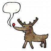 cartoon rudolf