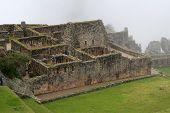 Ancient Ruins Of Machu Picchu, Peru