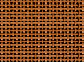 3D orange plastic net -abstract background