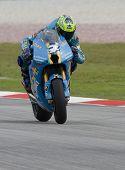 Australian Chris Vermuelen Of Rizla Suzuki Motogp At 2008 Polini Malaysian Motorcycle Grand Prix Sep