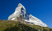 Matterhorn Mountain, Landmark Of Swiss