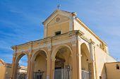 Sanctuary of St. Maria del Canneto. Gallipoli. Puglia. Italy.