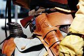 Pistol & Mounted Rider