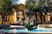 Fountain At Stanford University