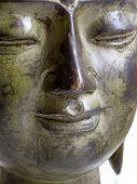 A Serene Buddha Face