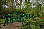 Japanese Bridge of Monet Garden