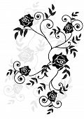 Roses  Vignette