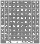 Web Business Social Multimedia Medical Ecology Vector Icons Set 1