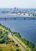 Panoramic View Of Riga, Latvia