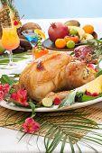 Tropical Roasted Turkey