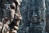 Bayon Temple Tower Faces