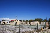 ROBBEN ISLAND IN CAPE TOWN, SOUTH AFRICA - 22 MAY 2013 - Robert Sobukwe House