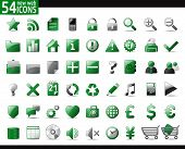 stock photo of home is where your heart is  - 54 Green Web Icons for your internet sites - JPG