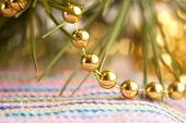 Yellow Shining Beads
