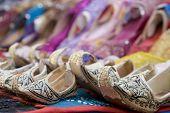 Dubai UAE Genie style sandals for sale in Bur Dubai souq in women\x90s and children\x90s sizes